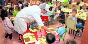 monitor de comedor escolar