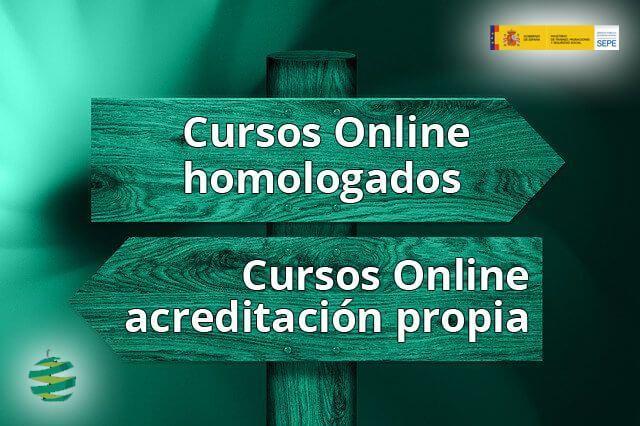 Cursos Online Homologados VS cursos con acreditación propia de +GestiónCanarias