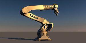 Animación 3D Robot