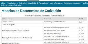 Documentos de Cotización a la Seguridad Social, Curso Online