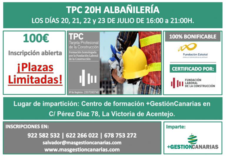 TPC ALBAÑILERÍA